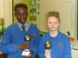 Tag Rugby Trophy Winners