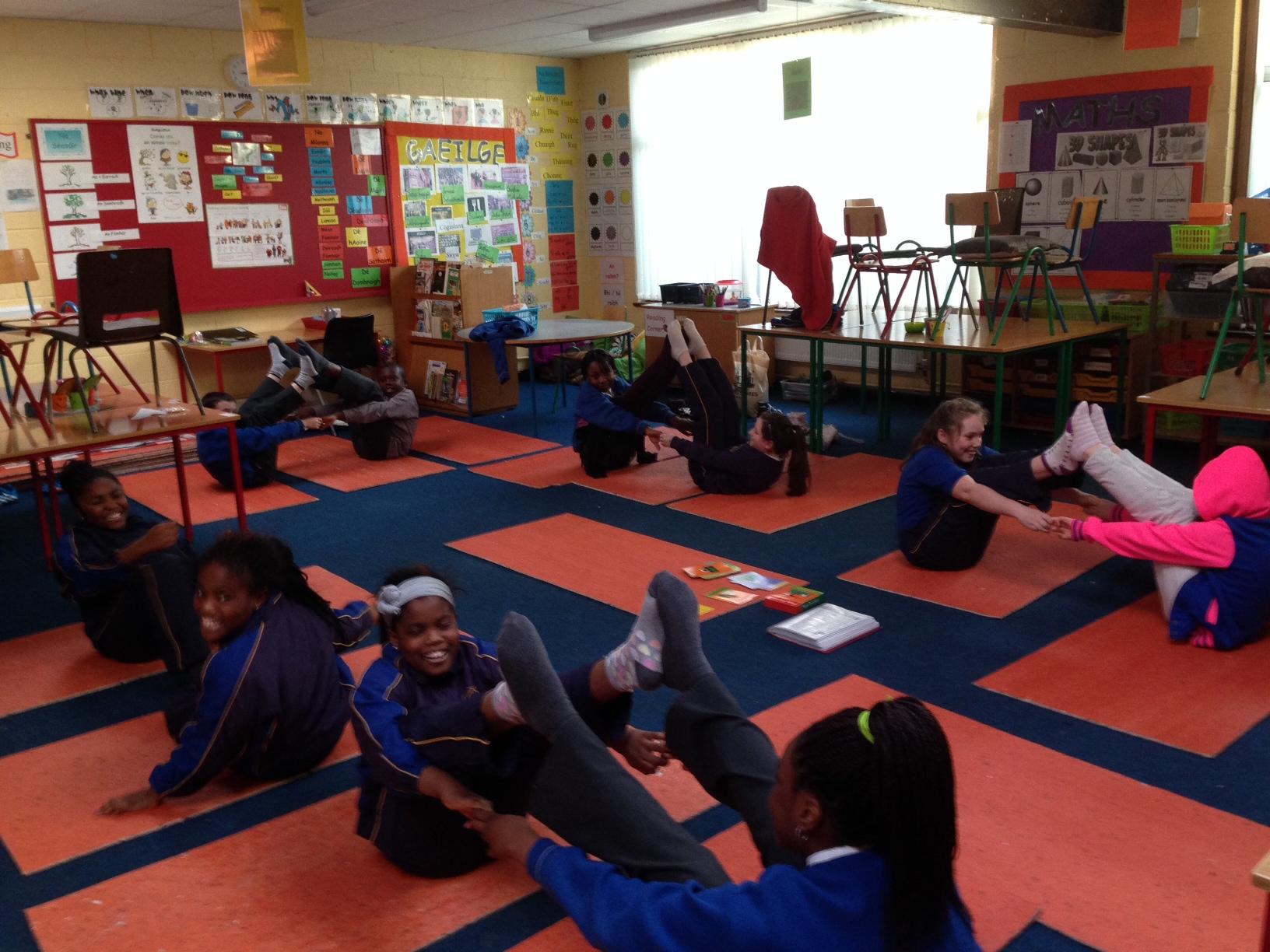 Yoga Club - St. Thomas' S.N.S.